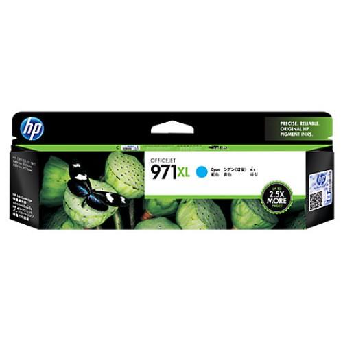 HP High Yield Cyan Ink Cartridge 971XL [CN626AA] - Tinta Printer Hp
